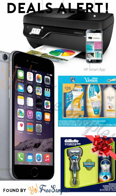 DEALS ALERT: Prepaid iPhone 6, Gillette Shave Gift Packs, HP OfficeJet Printer & More From Walmart, Amazon & Best Buy
