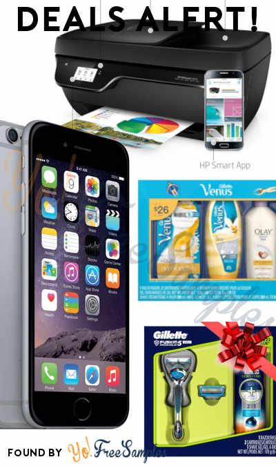 DEALS ALERT: Prepaid iPhone 6, Gillette Shave Gift Packs, HP