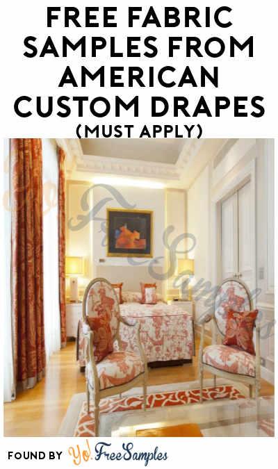 FREE American Custom Drapes Fabric Samples