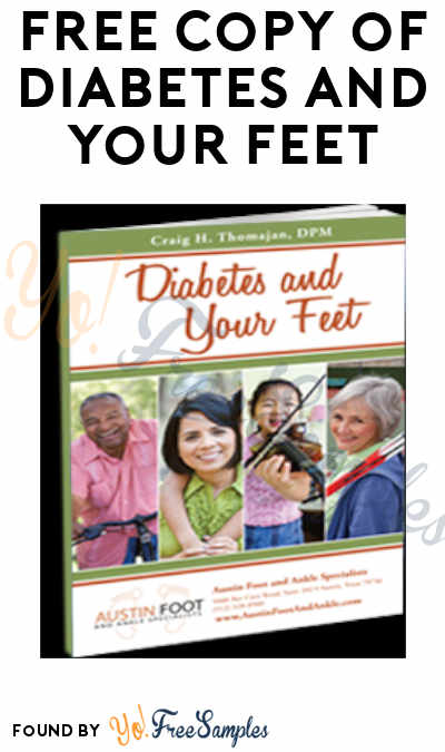 FREE Copy of Diabetes And Your Feet