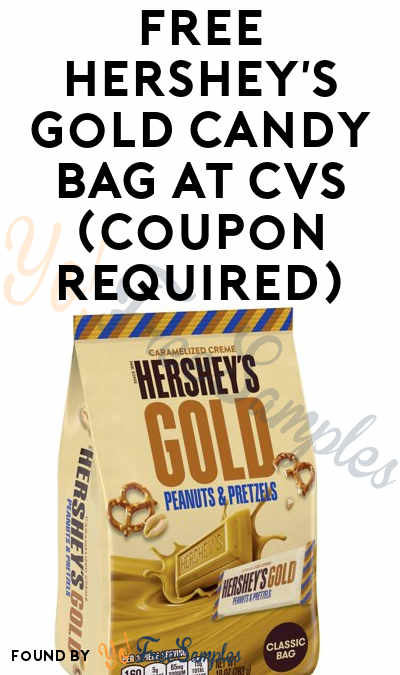 FREE Hershey's Gold Candy Bag At CVS (Coupon Required)