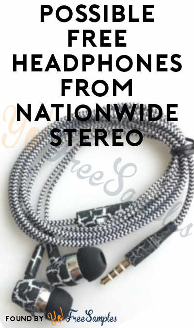 FREE Headphones From Nationwide Stereo