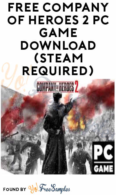 FREE Company of Heroes 2 PC Game Download (Steam Required)