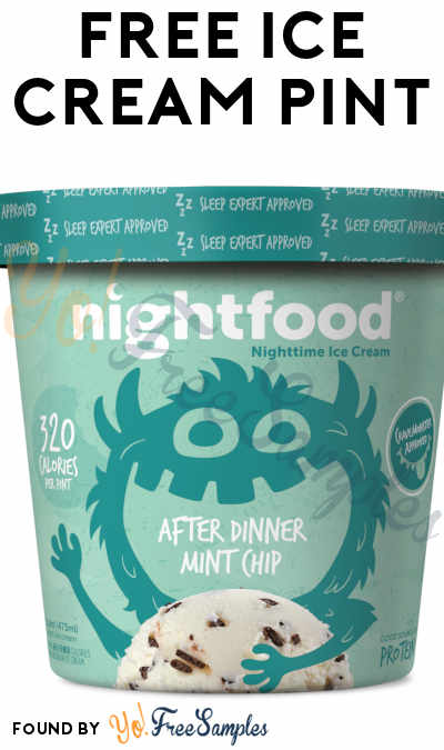 FREE Nightfood Ice Cream Pint Coupons For Referring Friends