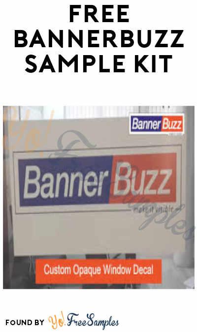 FREE Bannerbuzz Sample Kit