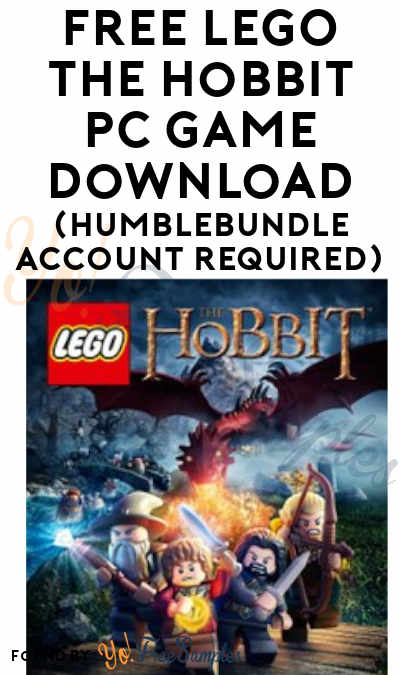 FREE LEGO The Hobbit PC Game Download (HumbleBundle Account Required)