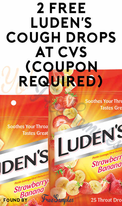 2 FREE Luden's Cough Drops At CVS (Coupon Required)