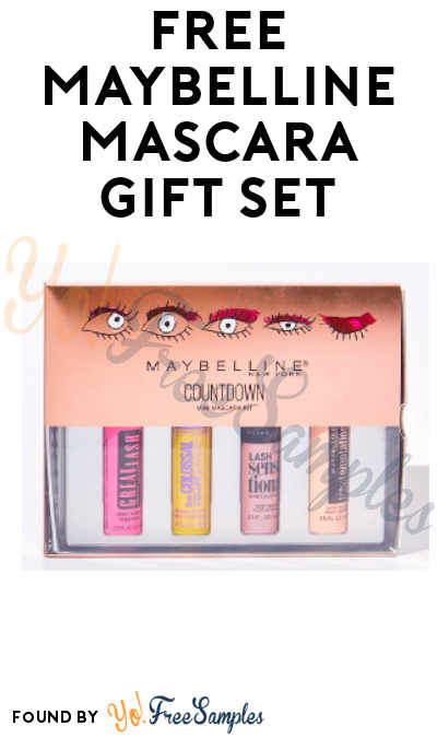 FREE Maybelline Mascara Gift Set