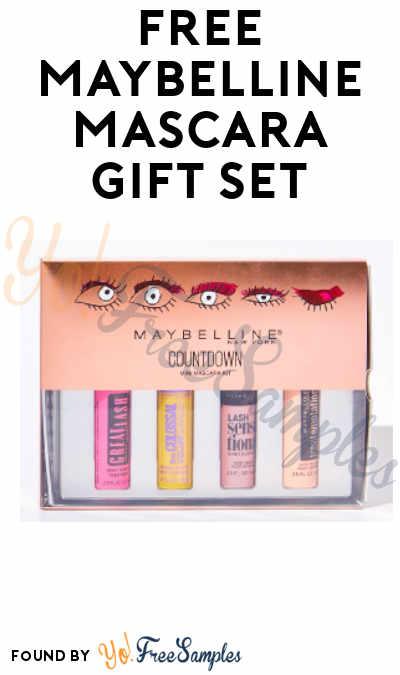 FREE Maybelline Mascara Gift Set