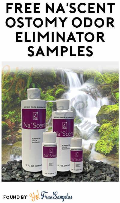 FREE Na'Scent Ostomy Odor Eliminator Samples
