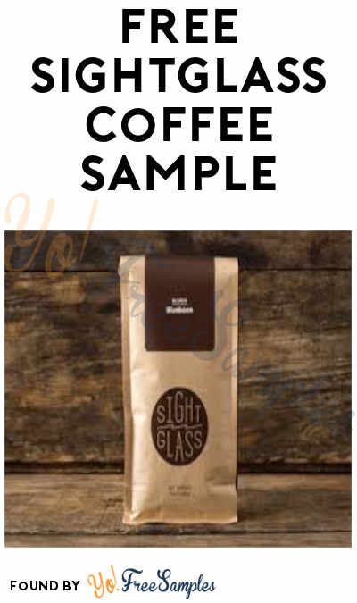 FREE Sightglass Coffee Sample (Credit Card Required)