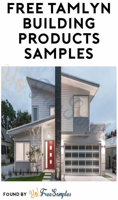 FREE Tamlyn Building Products Samples