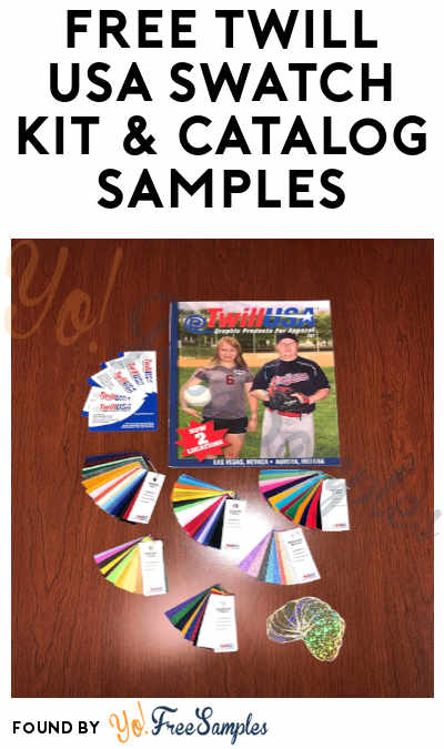 FREE Twill USA Swatch Kit & Catalog Samples
