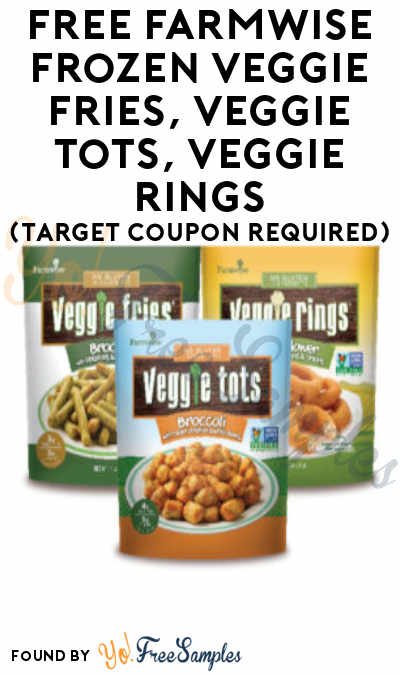 FREE Farmwise Frozen Veggie Fries, Veggie Tots, Veggie Rings (Target Coupon Required)