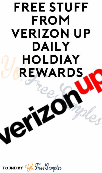 LAST DAY: FREE $5 Starbucks Gift Card For Today's Daily Holiday Rewards Through 12/18 For Verizon Rewards Members