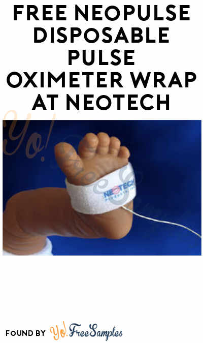 FREE NeoPulse Disposable Pulse Oximeter Wrap At Neotech (Healthcare Professionals Only)