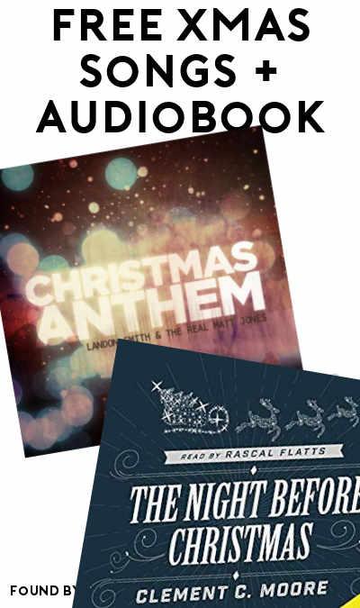 FREE Christmas Audiobook & Christmas Songs On Amazon