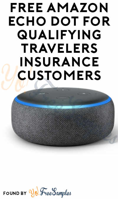 FREE Amazon Echo Dot For Qualifying Travelers Insurance Customers