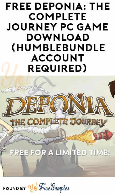 FREE Deponia: The Complete Journey PC Game Download (HumbleBundle Account Required)