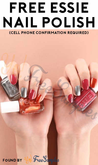 FREE Full-Size Essie Nail Polish Bottle (Cell Phone Confirmation Required)