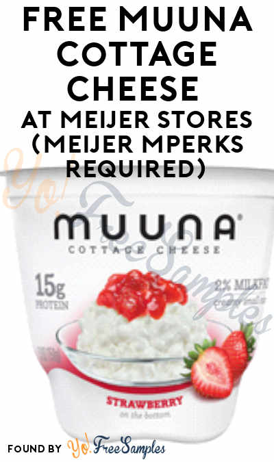 FREE Muuna Cottage Cheese At Meijer Stores (Meijer mPerks Required)