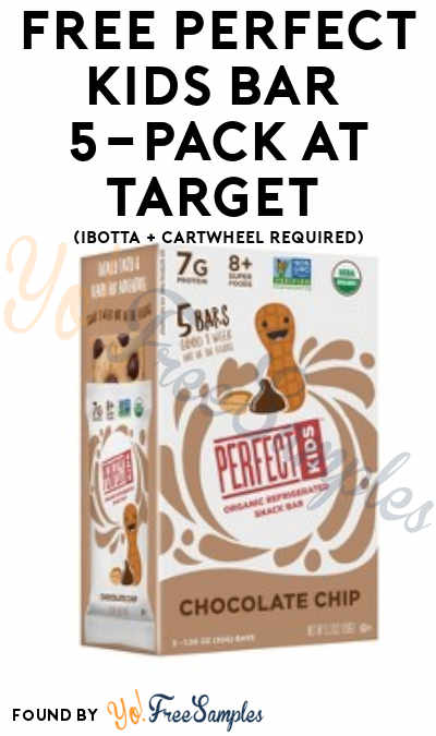 FREE Perfect Kids Bar 5-Pack At Target (Ibotta Required)
