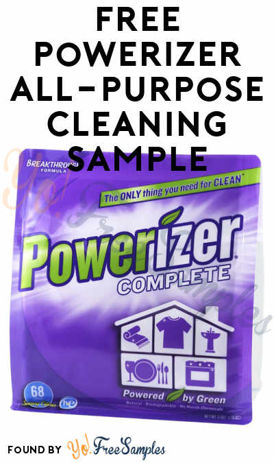 FREE Powerizer Complete All-Purpose Cleaning Product Sample (Short Survey Required)