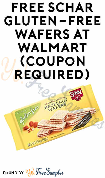FREE Schar Gluten-Free Wafers At Walmart (Coupon Required)