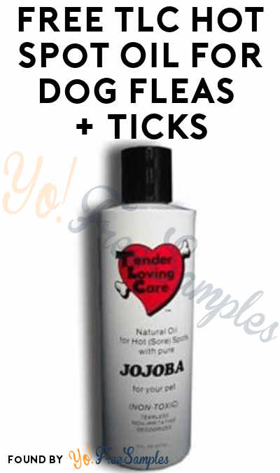 FREE TLC Hot Spot Oil For Dog Fleas + Ticks