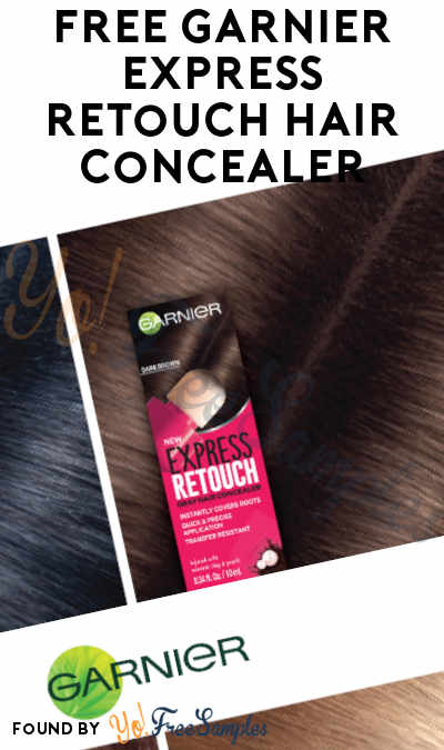 Possible FREE Garnier Express Retouch Hair Concealer At BzzAgent