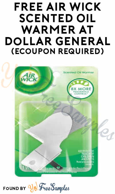 FREE Air Wick Scented Oil Warmer at Dollar General (eCoupon Required)