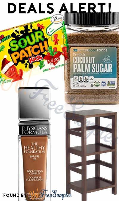 DEALS ALERT: BIC Disposable Shaving Razors, Physicians Formula Foundation, Sour Patch Kids, Coconut Sugar, Wood Shelving & More