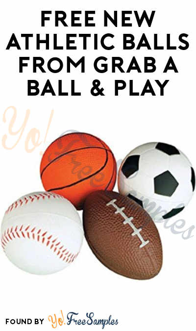 FREE New Athletic Balls For Under Served Youth Communities From Grab A Ball & Play
