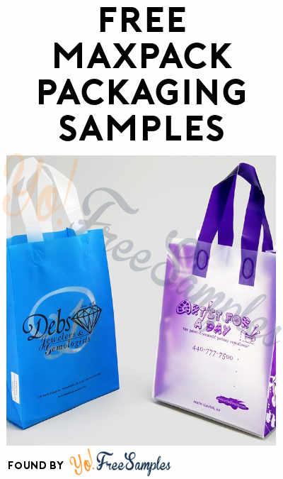 FREE MaxPack Packaging Samples