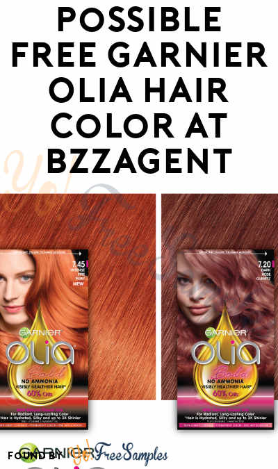 Possible FREE Garnier Olia Hair Color At BzzAgent