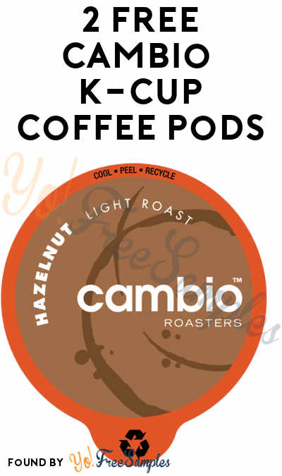 2 FREE Cambio K-Cup Coffee Pods