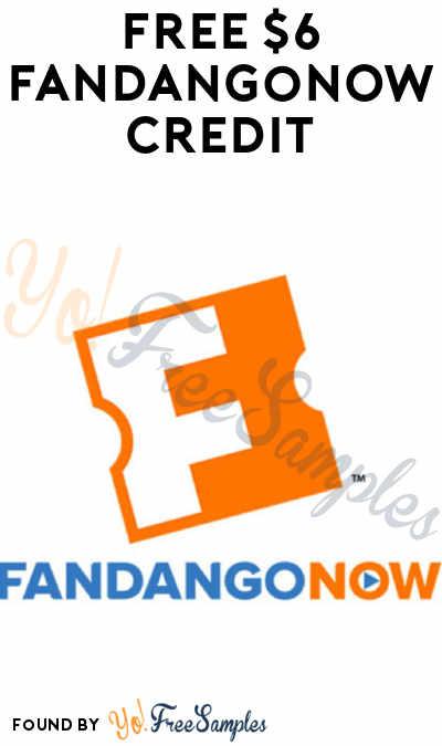 FREE $6 FandangoNOW Credit