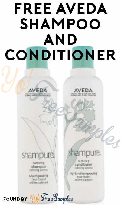 FREE Aveda Shampoo and Conditioner From ViewPoints (Must Apply)