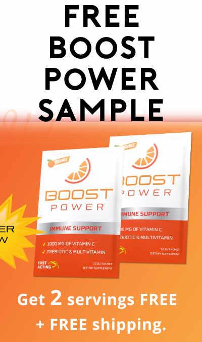 FREE Boost Power Sample