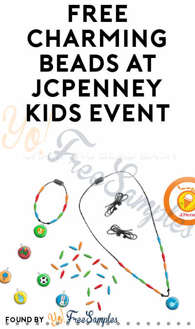 FREE Charming Beads At JCPenney Kids Event On 3/9