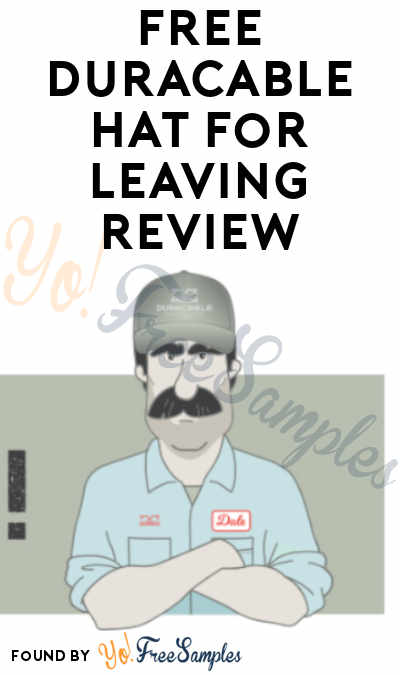 FREE Duracable Hat For Leaving Review