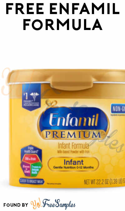 FREE Enfamil / Enfagrow Formula Products From ViewPoints (Must Apply)