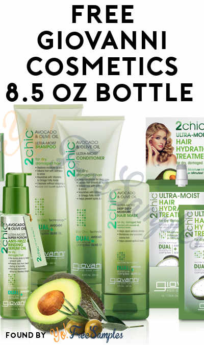 FREE Giovanni Cosmetics 8.5 oz Bottle