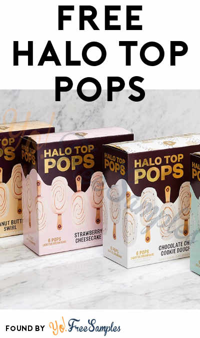 GET READY: FREE Halo Top Pops On 2/14 @ 12PM EST