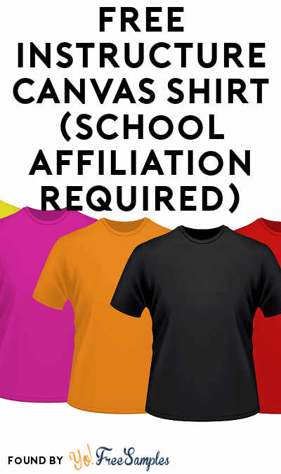 FREE Instructure Canvas Shirt (School Affiliation Required)
