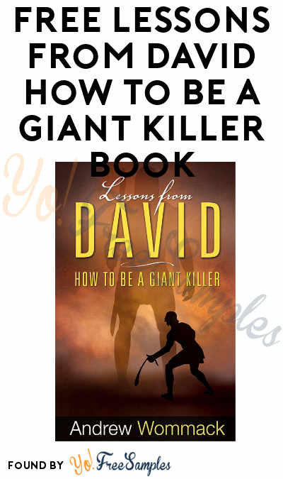 FREE Lessons from David How to Be A Giant Killer Book