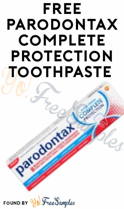 FREE Parodontax Complete Protection Toothpaste From ViewPoints (Must Apply)