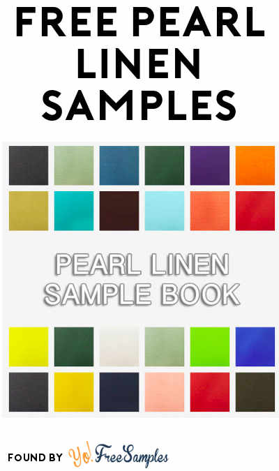 FREE Pearl Linen Book Cover Coated Cloth Samples
