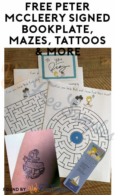 FREE Peter McCleery Signed Bookplate, Mazes, Tattoos & More