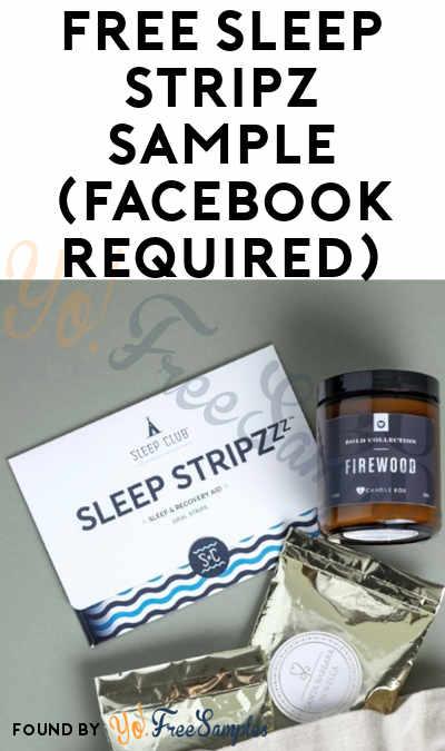 FREE Sleep Stripz Sample (Facebook Required)